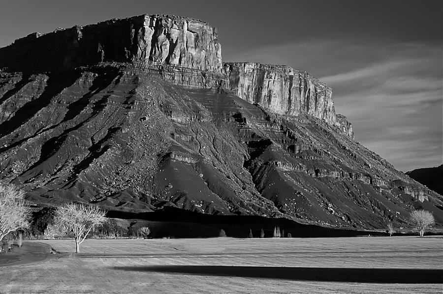 Mountains Photograph - The watchtowers by Mike  Bennett