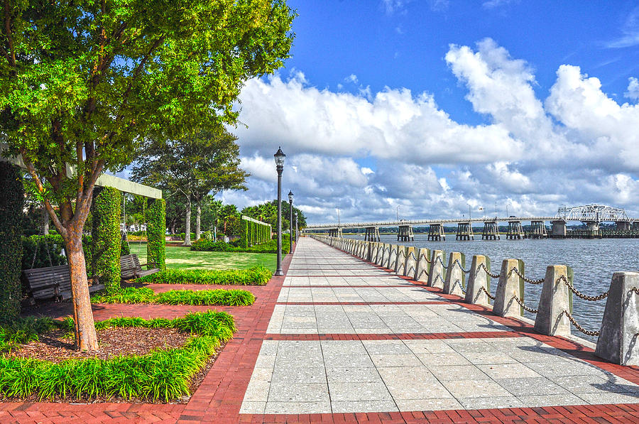 Beaufort Photograph - The Water Park by Donnie Smith