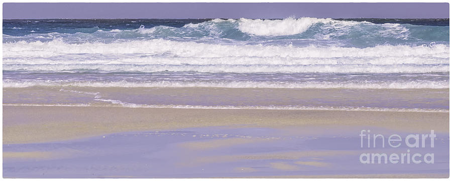 The Wave Luskentyre by George Hodlin