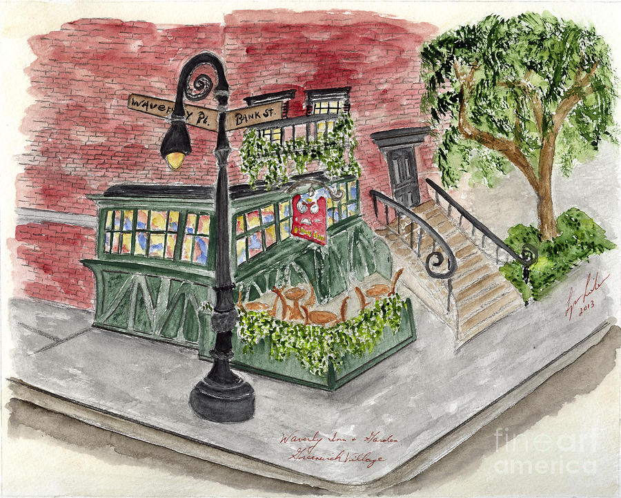 The Waverly Inn and Garden by AFineLyne