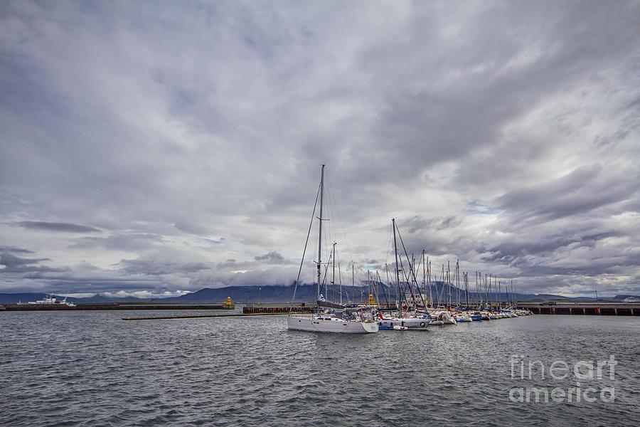 Reykjavik Photograph - The Waves Of Destiny by Evelina Kremsdorf