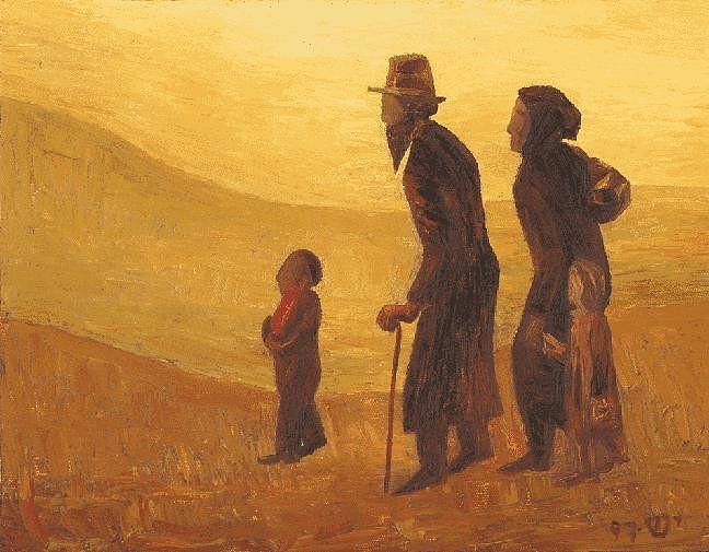 Wholesale Painting - The Way - Aliyah by Israel Tsvaygenbaum