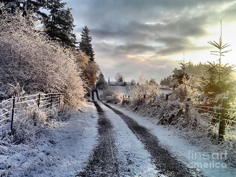 Landscape Photograph - The Way Home by Rory Sagner
