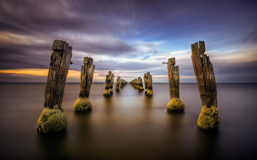 Long Exposure Photograph - The Way by Lincoln Harrison