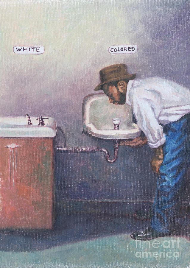 Black Painting - The Way Things Were by Colin Bootman