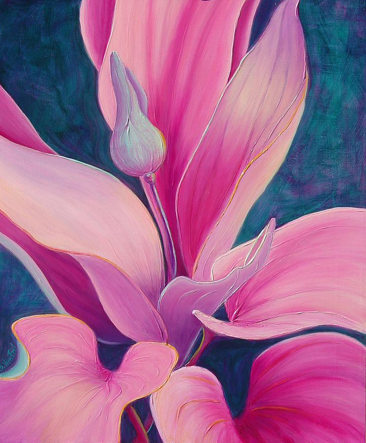 Flora Painting - The Way You Look Tonight by Sandi Whetzel