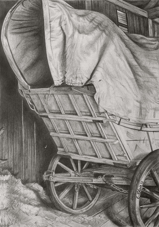 Art Print Drawing - The Weary Traveler by Chelsea Blair