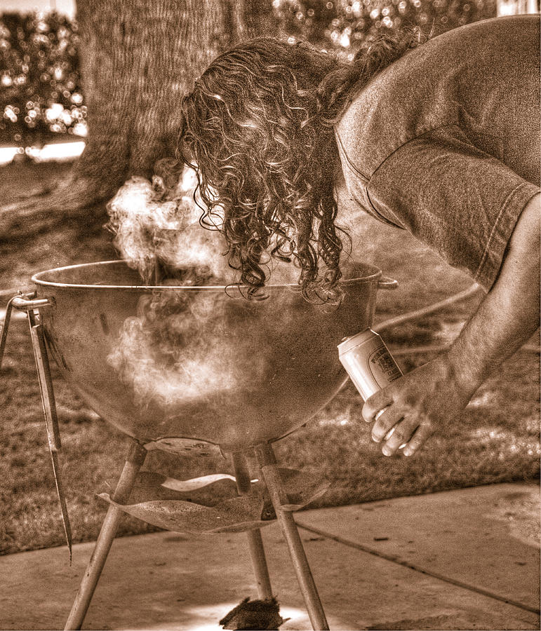 Sepia Photograph - The Weber Whisperer by Joe Schofield