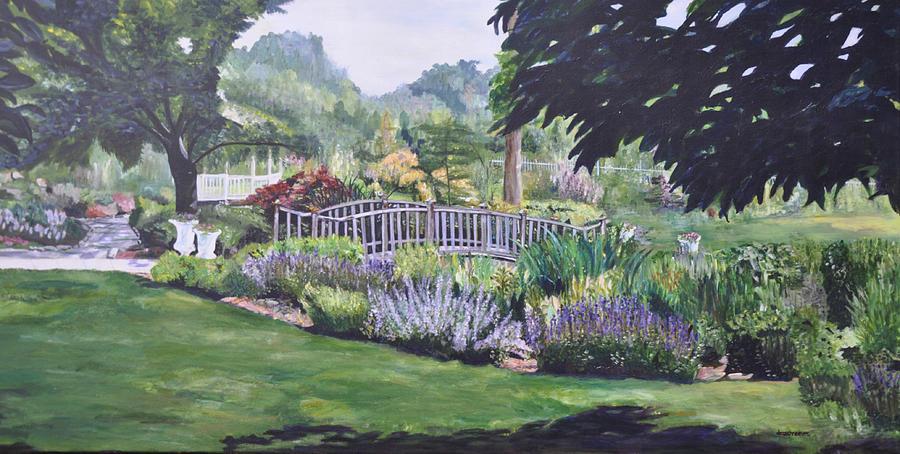 Queens Painting - The Wedding Bridge by Dottie Branchreeves
