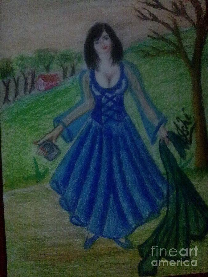 The Weeping Princess Painting by Syeda Ishrat