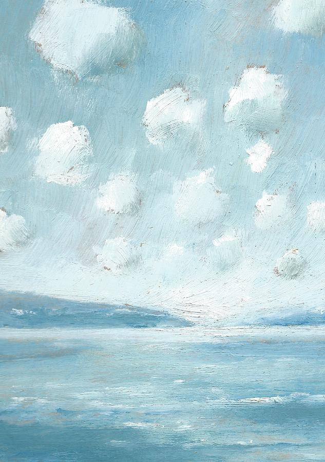 Seascapes Painting - The Western Solent Part Six by Alan Daysh