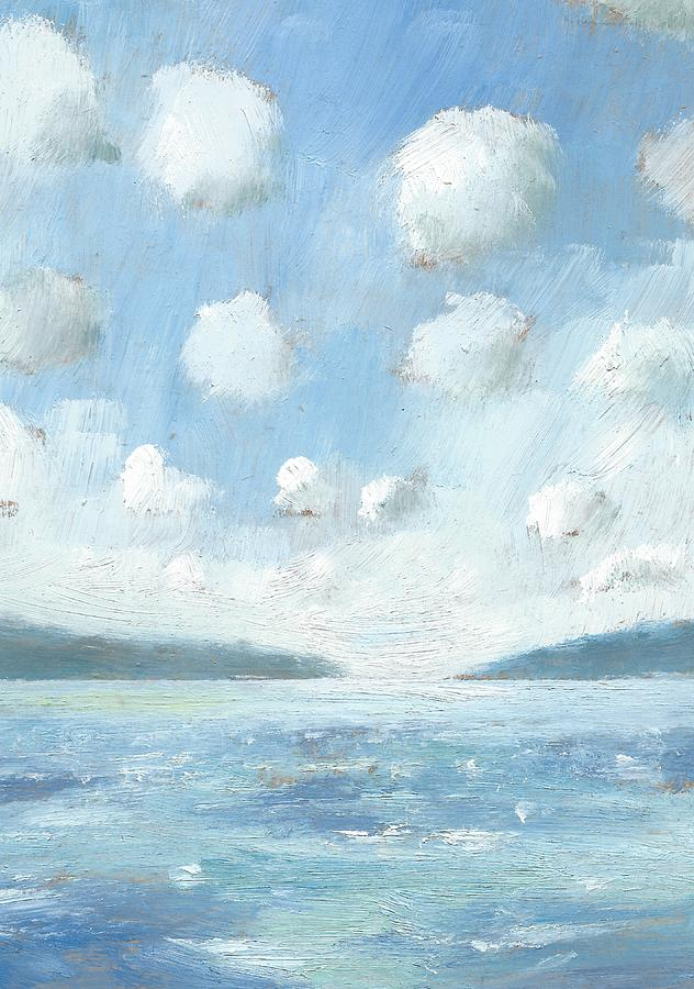 Seascapes Painting - The Western Solent Part Two by Alan Daysh
