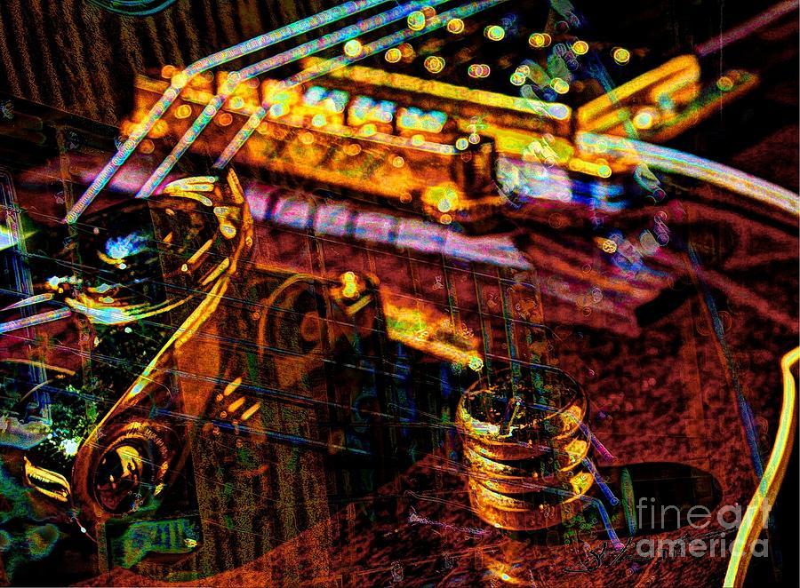 Guitar Photograph - The Whammy Digital Guitar Art By Steven Langston by Steven Lebron Langston