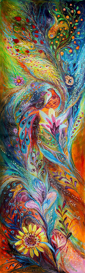 Judaica Painting - The Whisper Of Dream by Elena Kotliarker