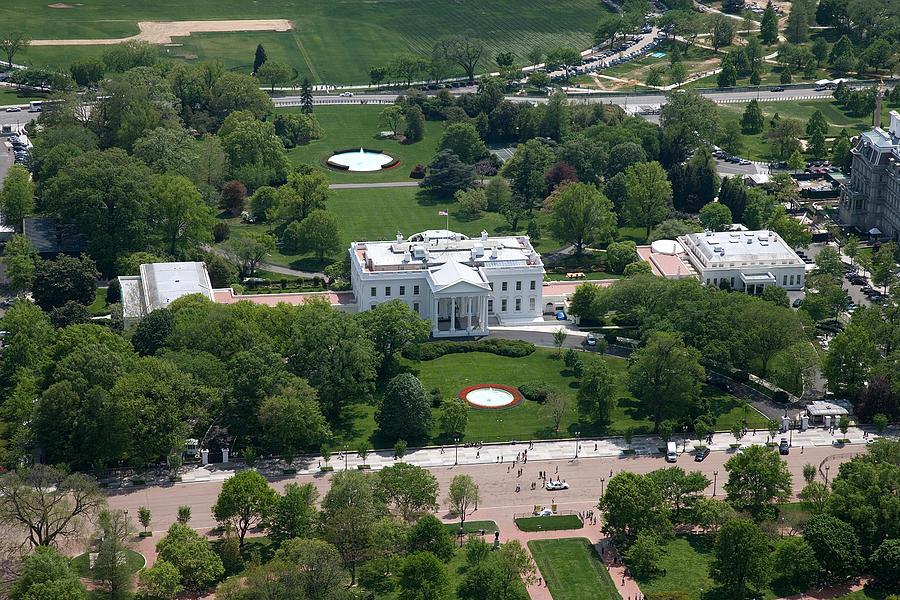 Carol Highsmith Digital Art - The White House by Carol Highsmith