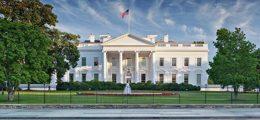 The White House Photograph by Caroline Purser