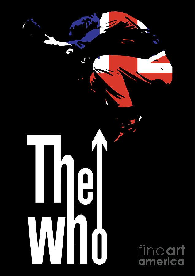 The Who No 01 Digital Art By Caio Caldas