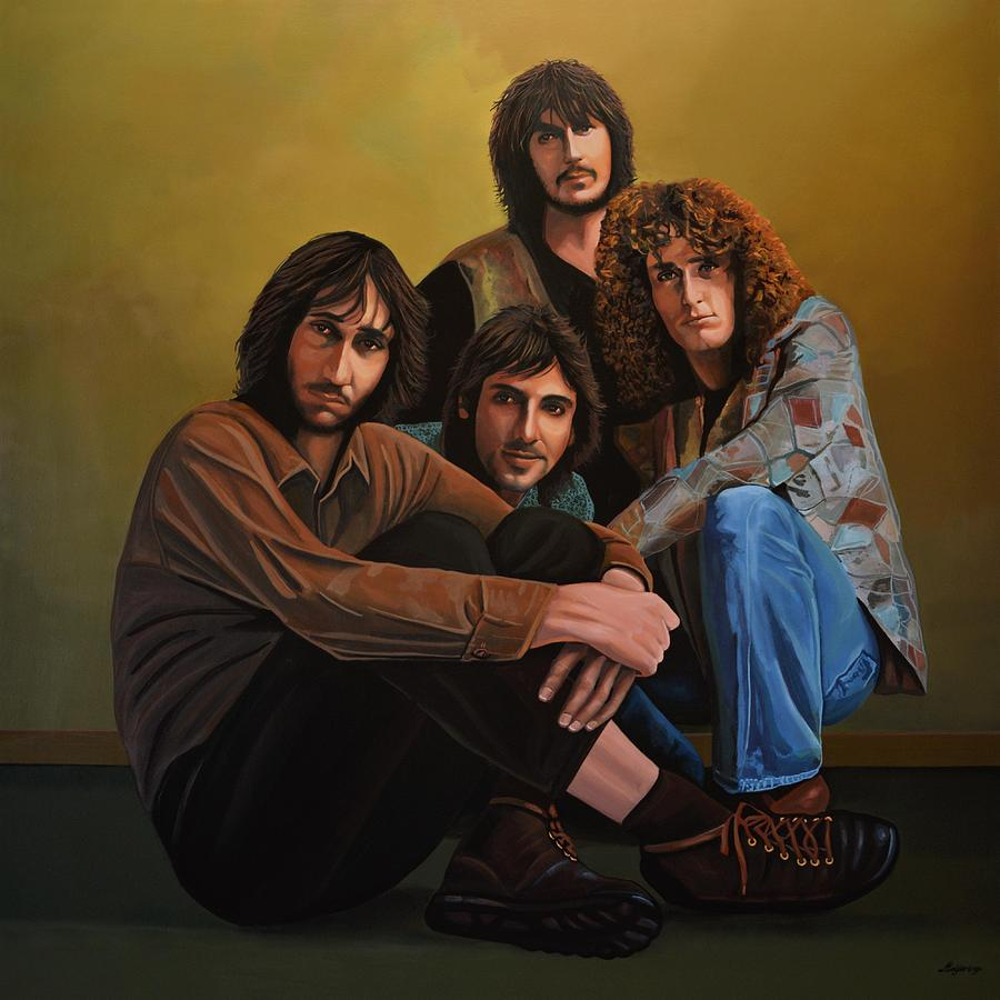 The Who Painting - The Who by Paul Meijering