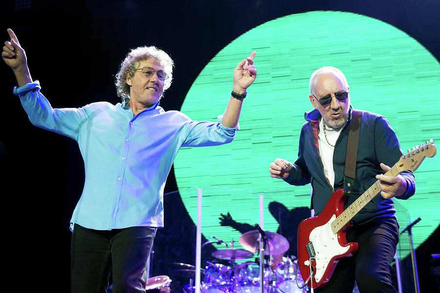 The Who Perform At The O2 Arena Photograph by Neil Lupin