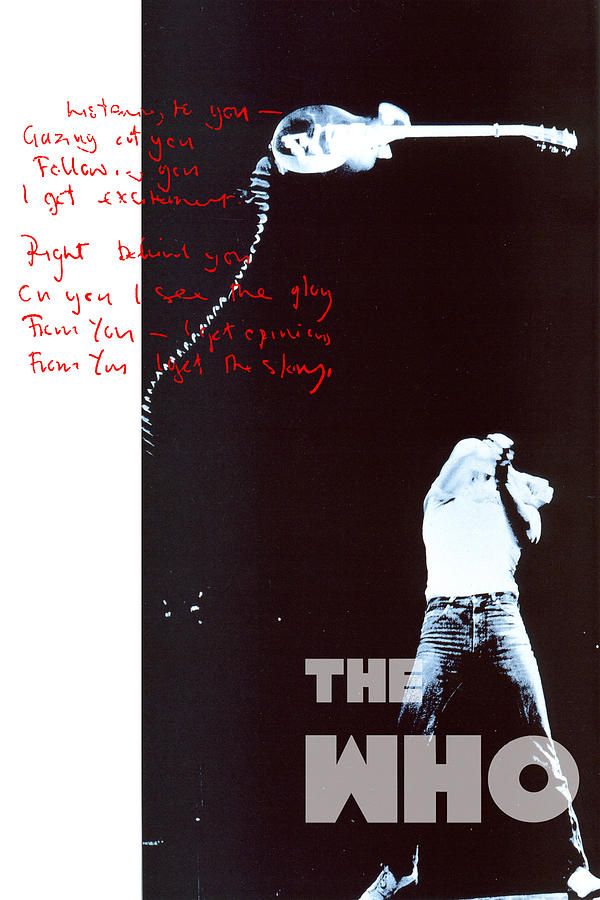 The Who Digital Art