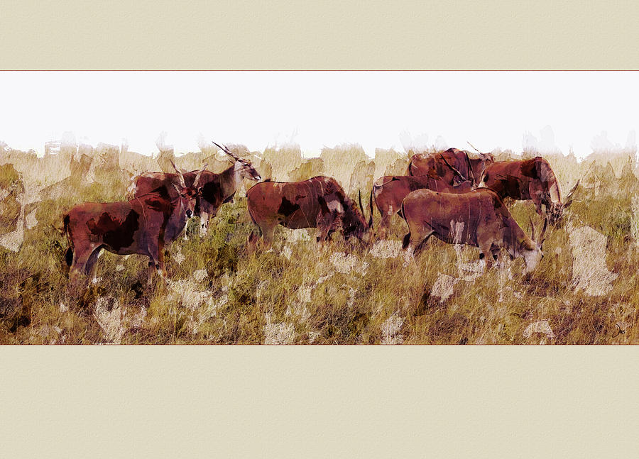 Ron Jones Digital Art - The Wilds by Ron Jones