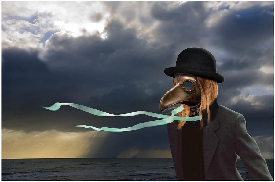 Surreal Painting - The Wind Has Changed by Craig Carl