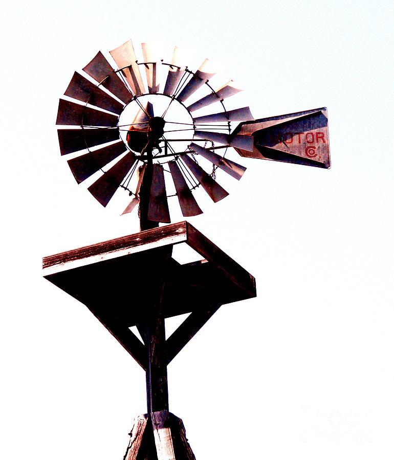 Windmill Photograph - The Windmill by Avis  Noelle