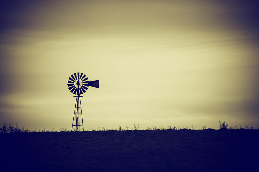 Windmill Photograph - The Windmill by Karol Livote