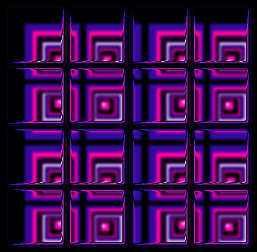 Abstract Digital Art - The Window by Anastasiya Malakhova