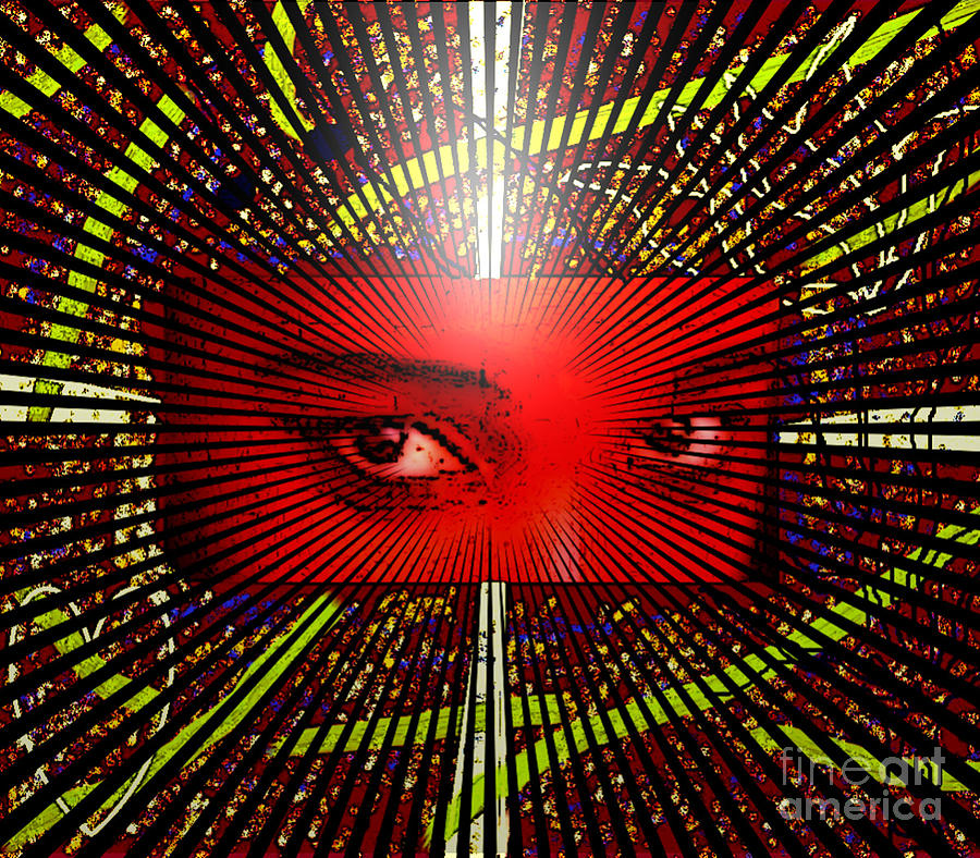 Eyes Digital Art - The Window To My Soul by Lewanda Laboy