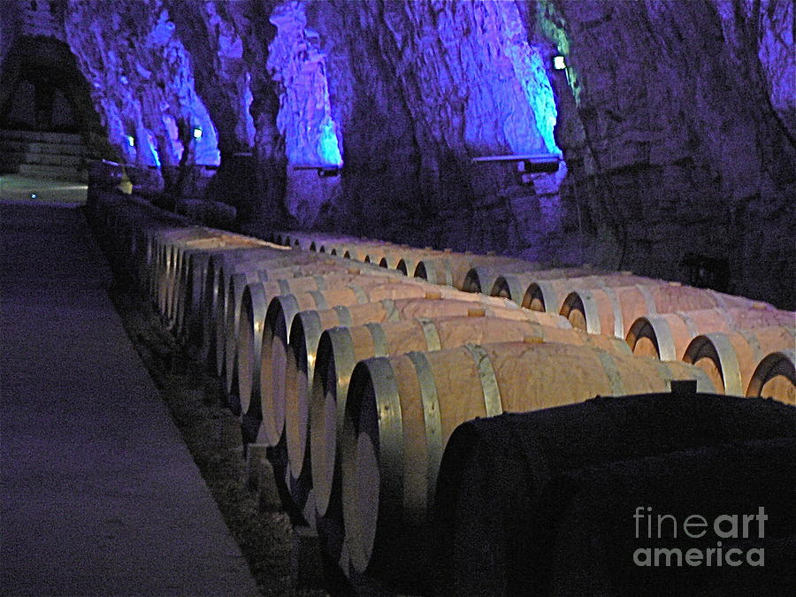 Wine Photograph - The Wine Cave by France  Art