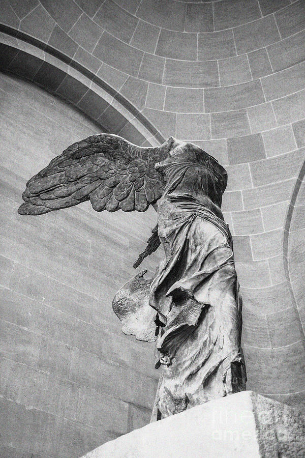 Acropolis Photograph - The Winged Victory by Patricia Hofmeester
