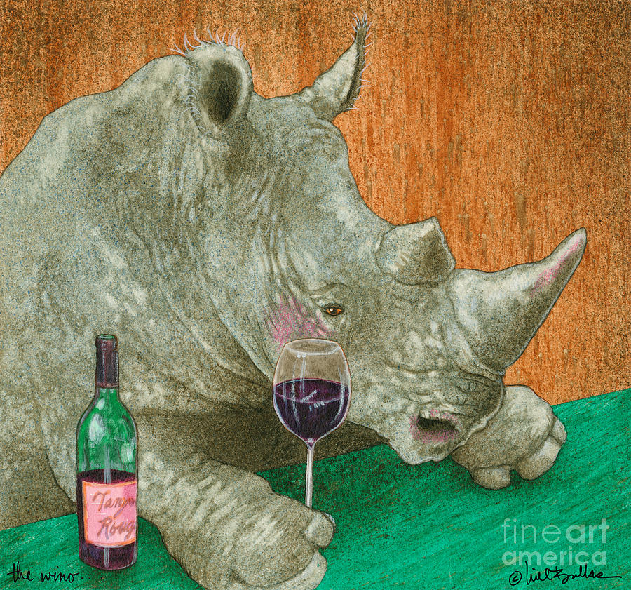 Will Bullas Painting - The Wino... by Will Bullas