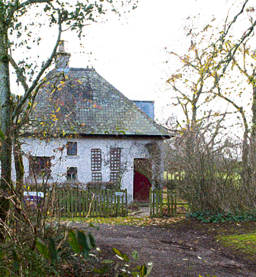 The Witches Cottage Photograph By Dave Byrne