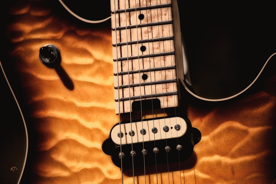 Guitar Photograph - The Wolfgang  by Karol Livote
