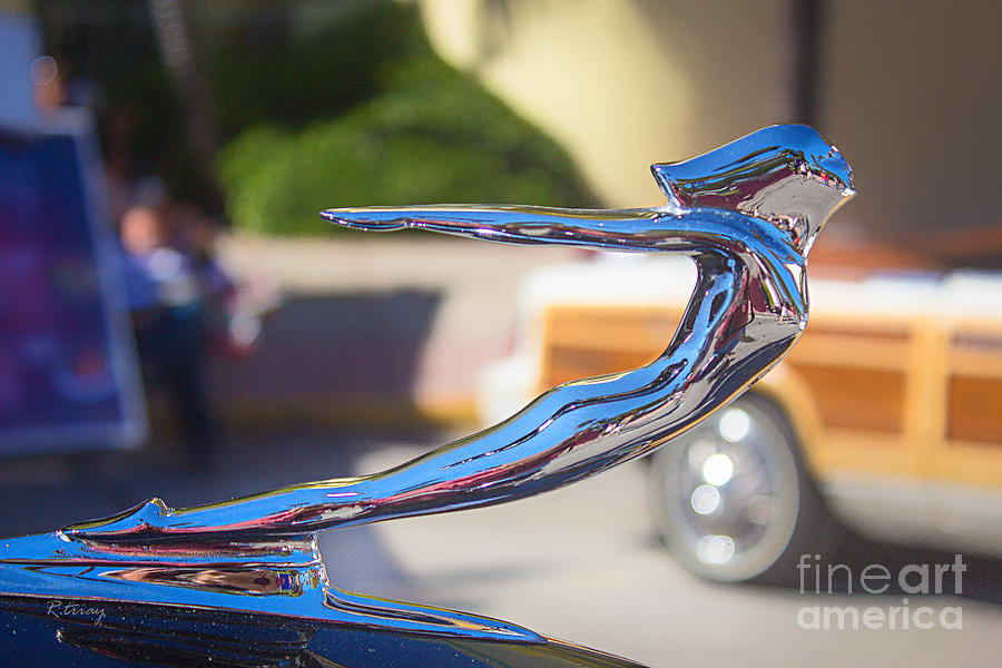 Hood Ornament Photograph - The Woman In Every Mans Dream by Rene Triay Photography