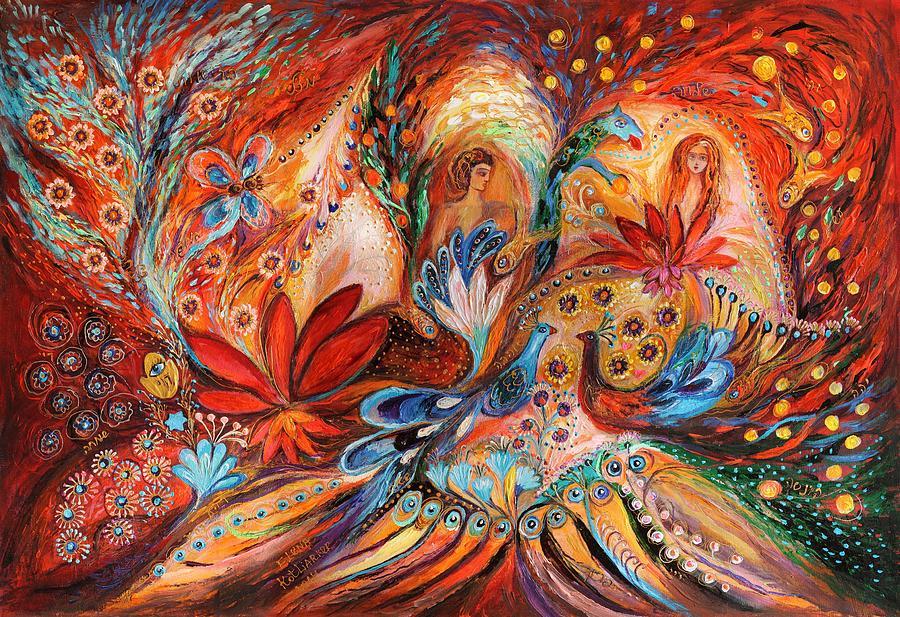 Judaica Store Painting - The Women Of Tanakh Hava II by Elena Kotliarker