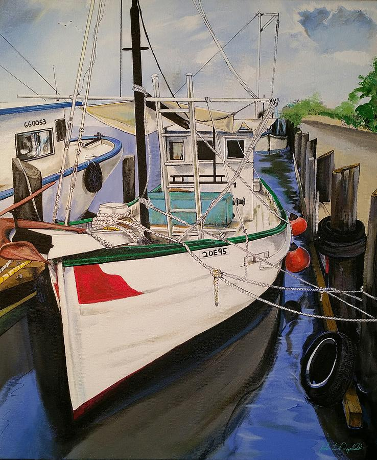 The Wooden Work Boats by John  Duplantis