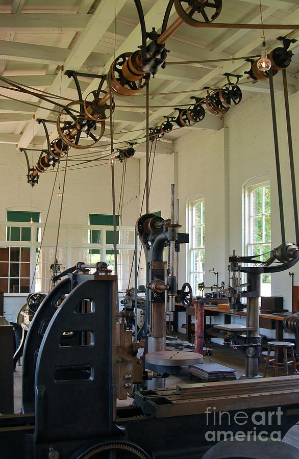 Henry Ford Photograph - The Work Shop by Patrick Shupert