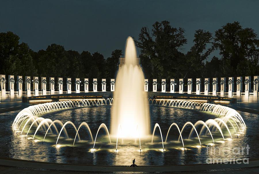 America Photograph - The World War II Memorial by John Greim