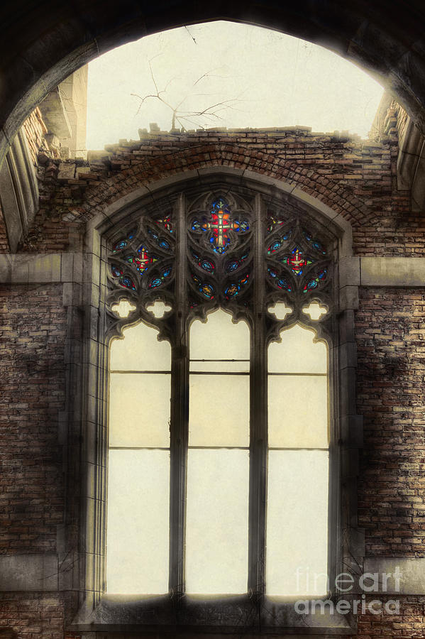 Church Photograph - The Worlds Window by Margie Hurwich