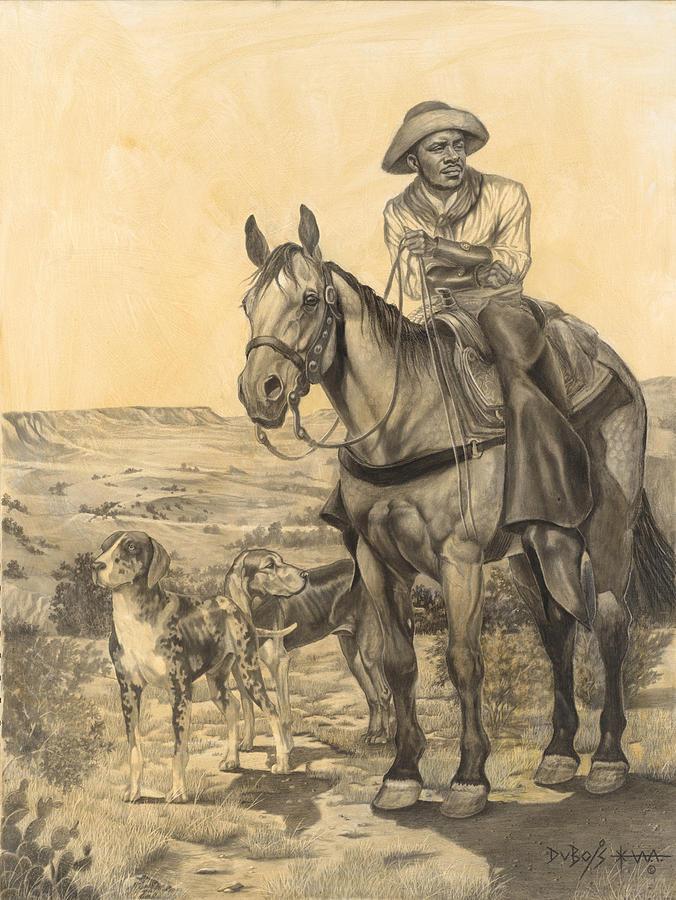 THE WRANGLER by Howard DUBOIS