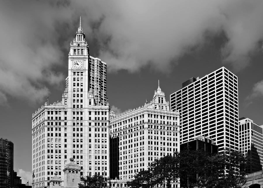 Wrigley Photograph - The Wrigley Building Chicago by Christine Till