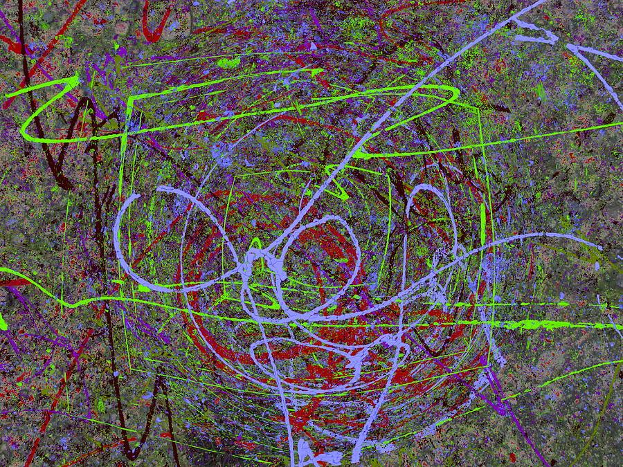 Graffiti Digital Art - The Writing On The Wall 15 by Tim Allen