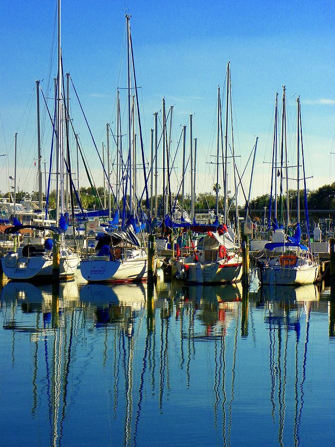 The Yacht Club Photograph - The Yacht Club by Carolyn Bistline