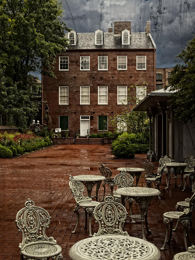 Yard Photograph - The Yard by Wayne Gill