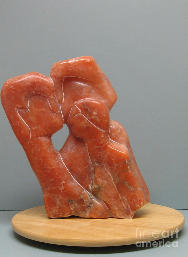 Sculpture Sculpture - The Young Family by Nili Tochner