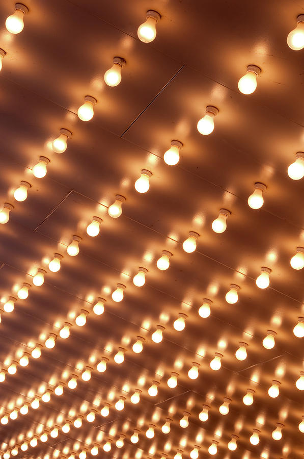 Theater Marquee Lights Photograph by 400tmax