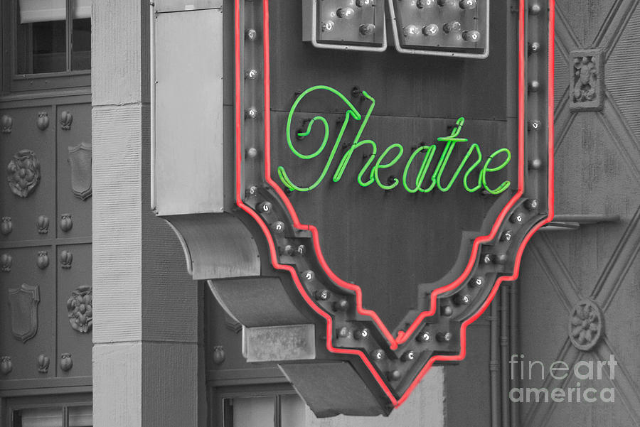 Theater Photograph - Theatre by Dan Holm