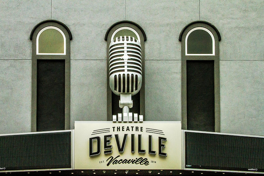 Deville Photograph - Theatre Deville by Bill Gallagher